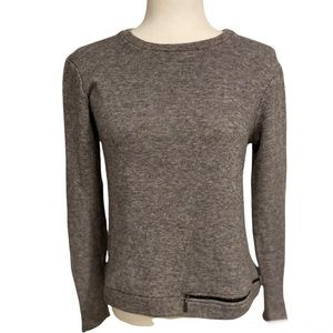 Feel The Piece Terre Jacobs Sweater with Zipper Details xs/s
